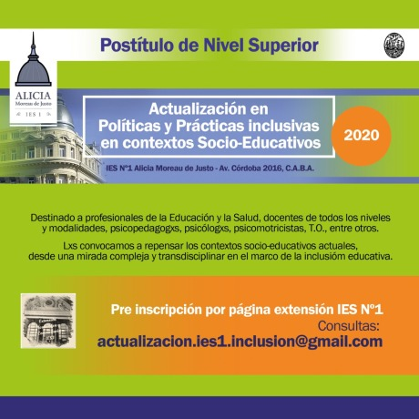 Postitulo Inclusion -IES 2020
